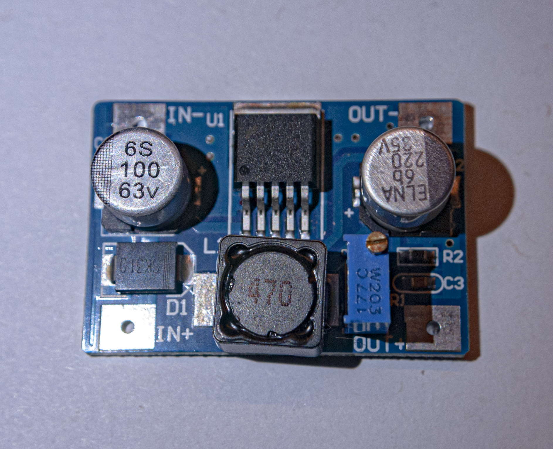 example of an adjustable dc-dc converter